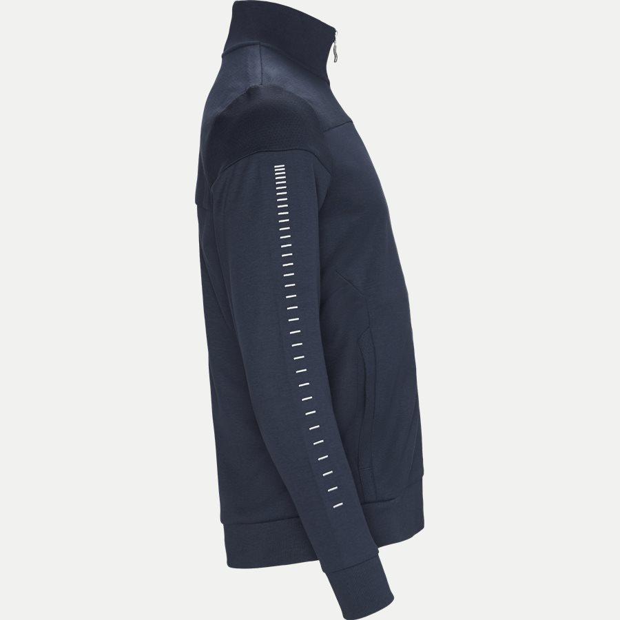 50418945 SKAZ WIN - Skaz Win Full Zip Sweatshirt - Sweatshirts - Regular - NAVY/SØLV - 4