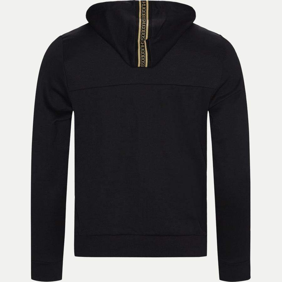50418944 SAGGY WIN - Saggy Win Sweatshirt - Sweatshirts - Regular - SORT/GULD - 2