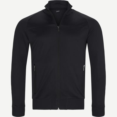 Skarley Zip Sweatshirt Regular | Skarley Zip Sweatshirt | Sort