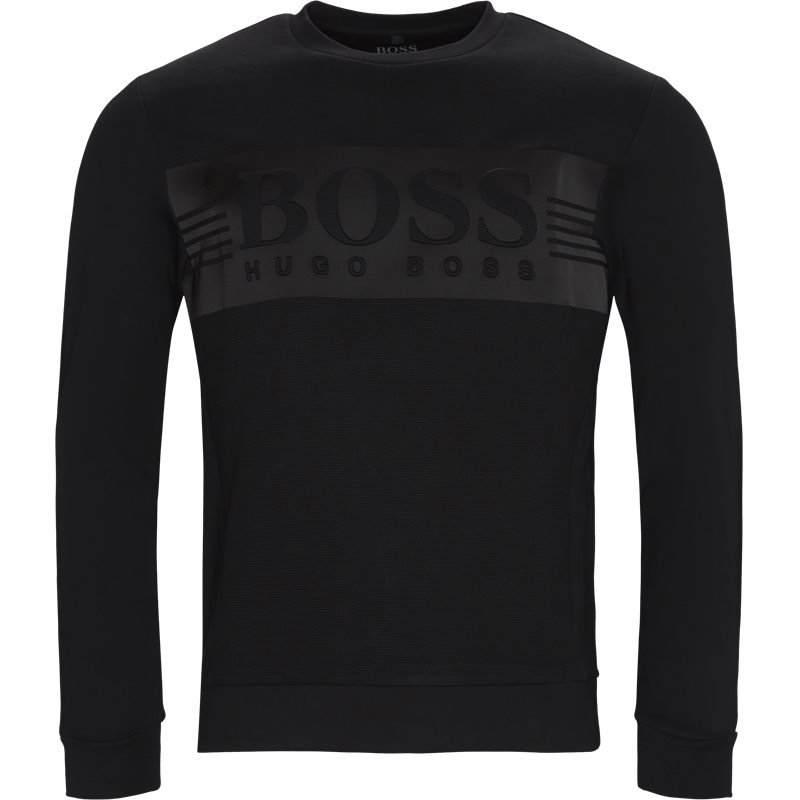 boss athleisure Boss athleisure - saltech crew neck sweatshirt på kaufmann.dk