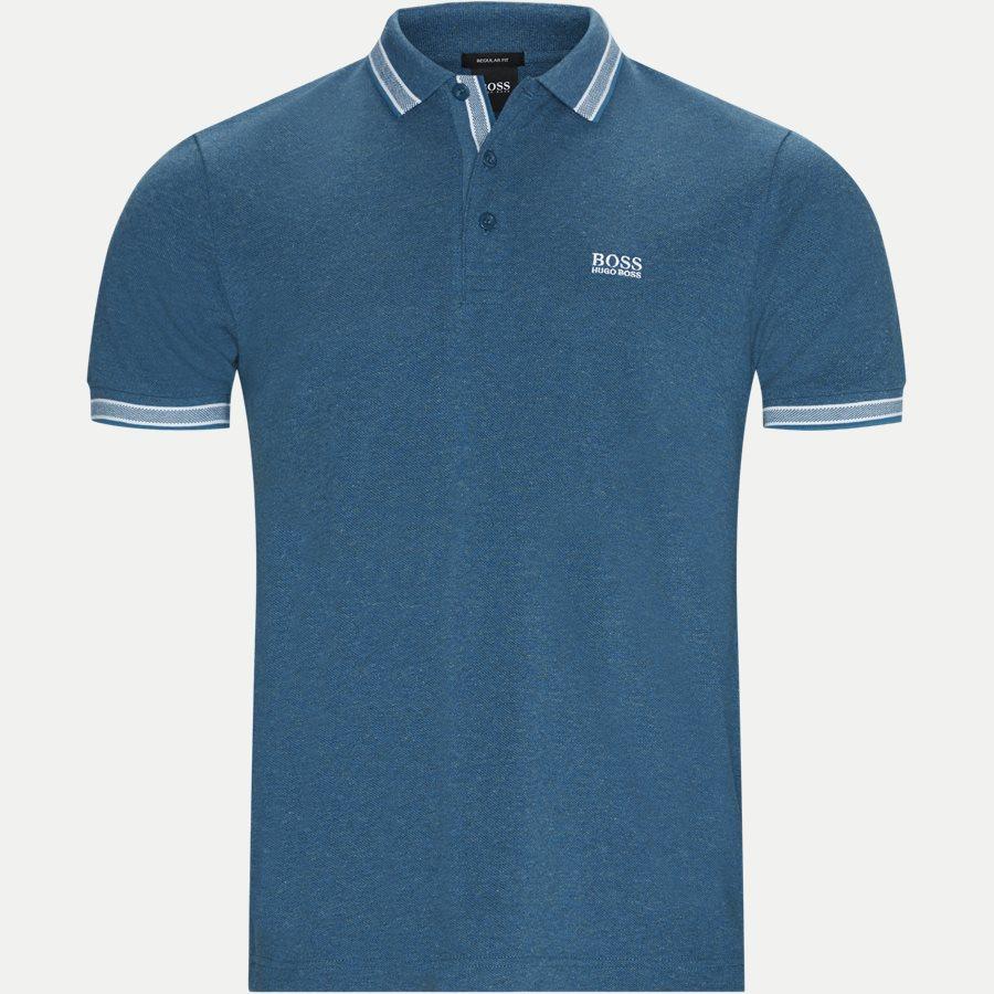 50398302 PADDY - Paddy Polo T-shirt - T-shirts - Regular - BLÅ - 1