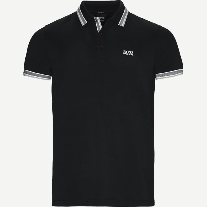 Paddy Polo T-shirt - T-shirts - Regular - Sort