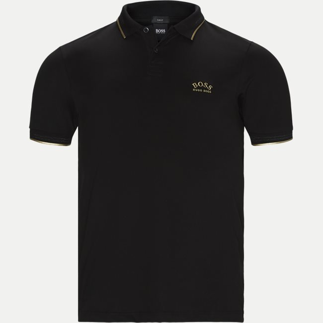 Paul Curved Polo T-shirt