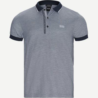 Paule 4 Polo T-shirt Slim | Paule 4 Polo T-shirt | Blå