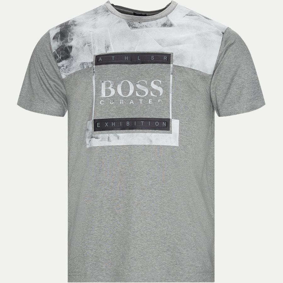 50414723 TEE 9 - Tee 9 - T-shirts - Regular - GRÅ - 1