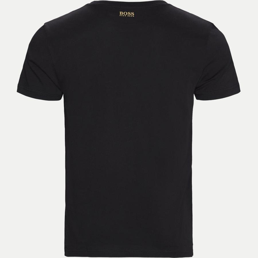 50413795 TEE 1 - Tee 1 - T-shirts - Regular - SORT/GULD - 2