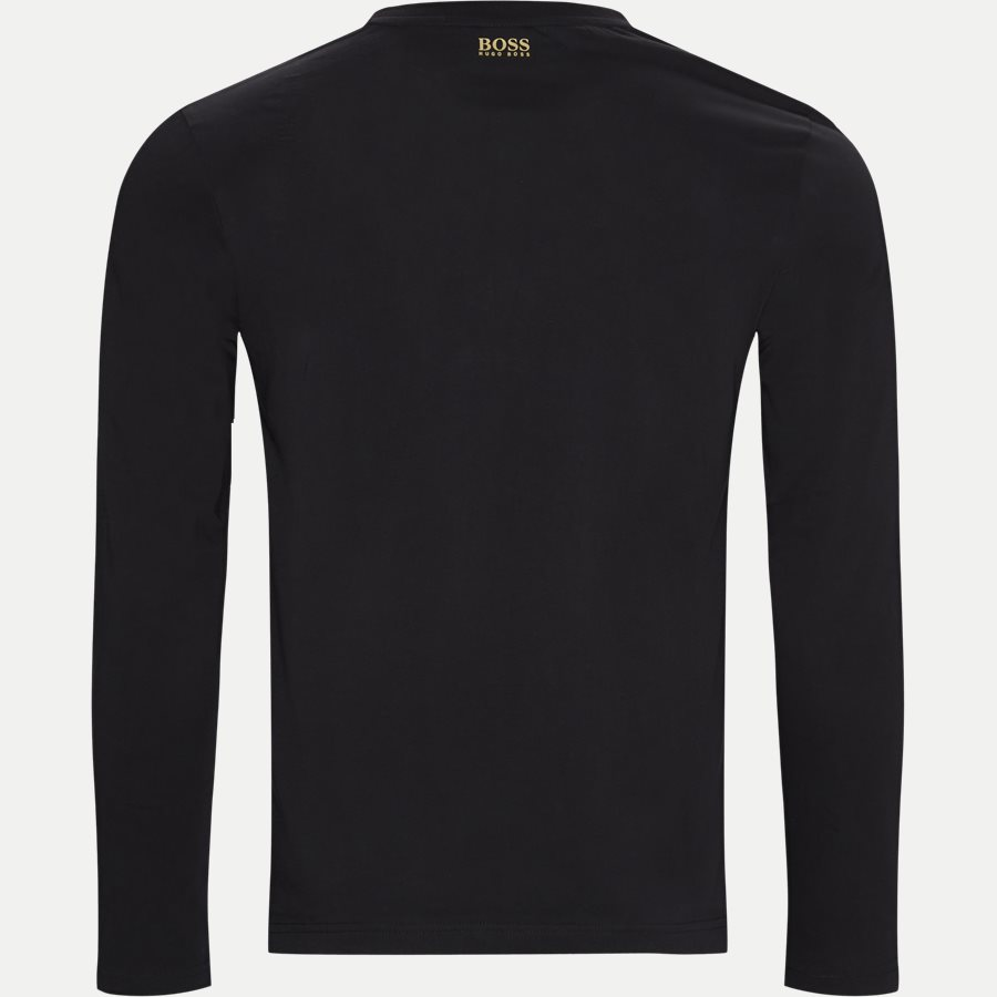 50413895 TOGN 1 - Togn 1 LS T-shirt - T-shirts - Regular - SORT/GULD - 2