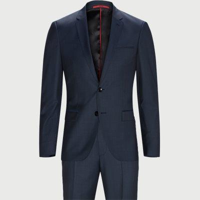 Ekstra slim fit | Kostymer | Blå
