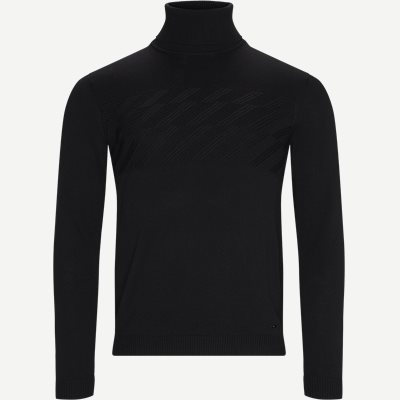 Sisealano Turtleneck Slim | Sisealano Turtleneck | Sort