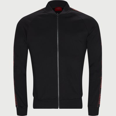 Dalkutta Zip Sweatshirt Regular | Dalkutta Zip Sweatshirt | Sort