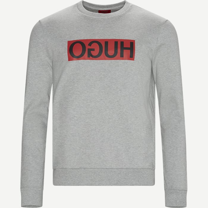 Dicago Crewneck Sweatshirt - Sweatshirts - Regular - Grå