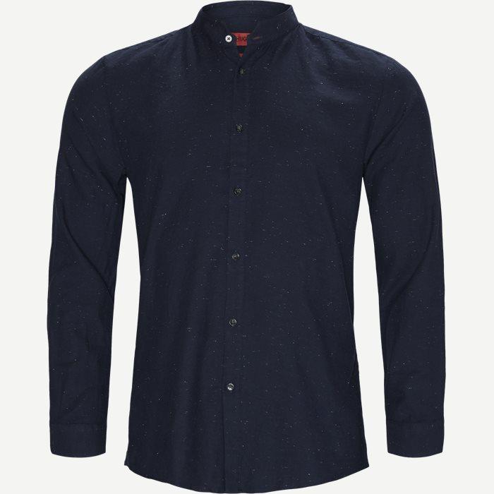Elvorino Skjorte - Skjorter - Ekstra slim fit - Blå
