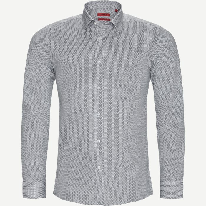 Skjortor - Ekstra slim fit - Vit