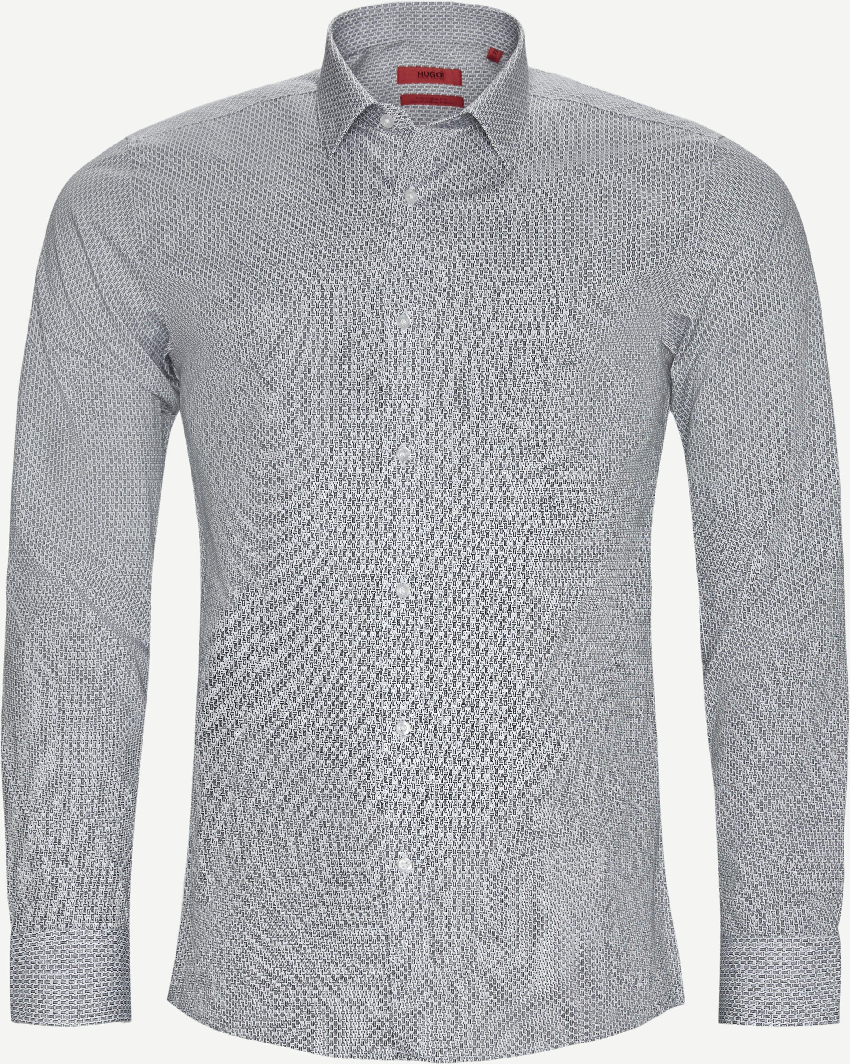 Elisha02 Shirt - Skjorter - Ekstra slim fit - Hvid