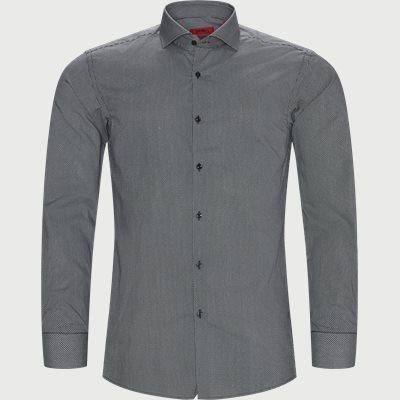 Kason Skjorte Slim | Kason Skjorte | Sort