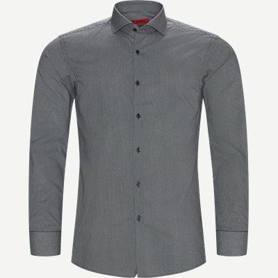 Kason Skjorte Slim   Kason Skjorte   Sort