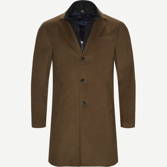 Cashmere Coat Sultan Tech - Jakker - Regular - Brun