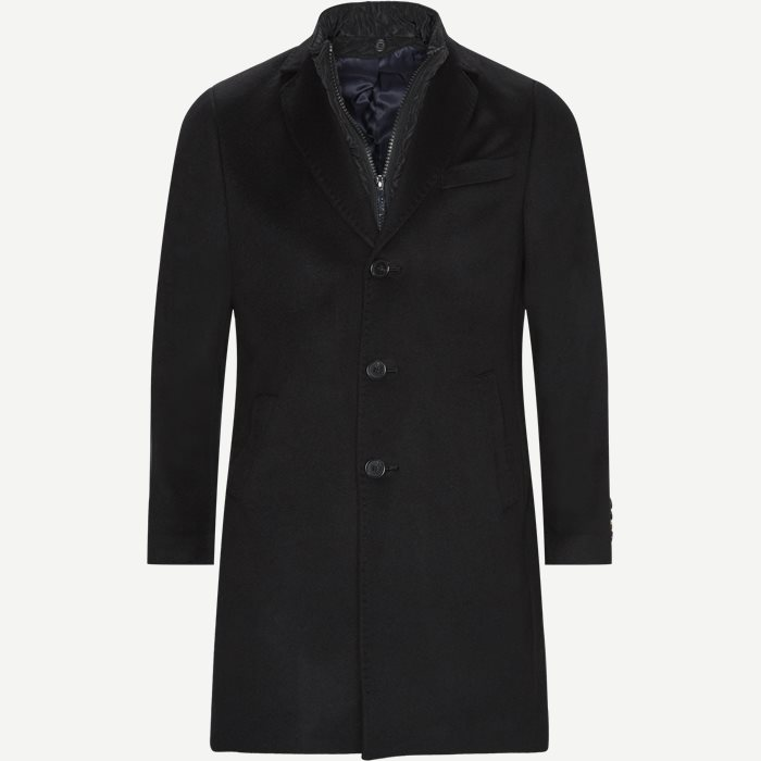 Cashmere Coat Sultan Tech - Jakker - Regular - Sort