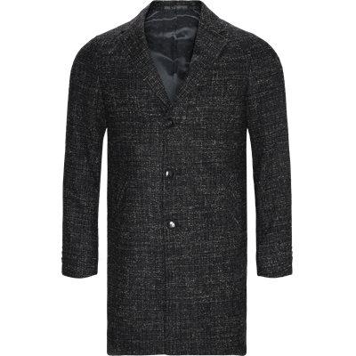 Retro Coat Modern fit | Retro Coat | Sort