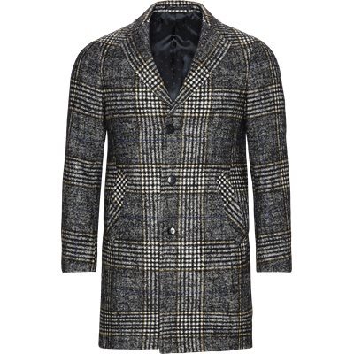 7404 Retro Coat Modern fit | 7404 Retro Coat | Grå