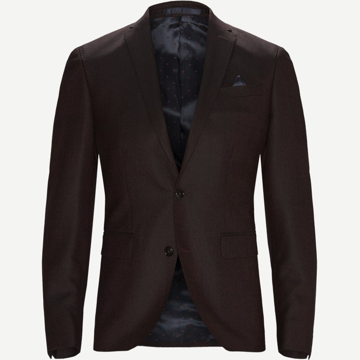 6135 Star/Sherman Blazer - Blazer - Bordeaux