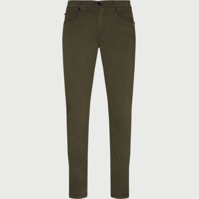 Suede Touch Burton N Jeans Regular | Suede Touch Burton N Jeans | Army