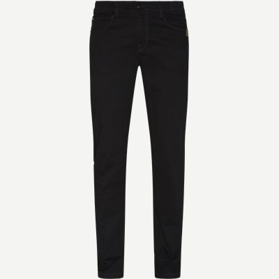 Suede Touch Burton N Jeans Regular | Suede Touch Burton N Jeans | Sort