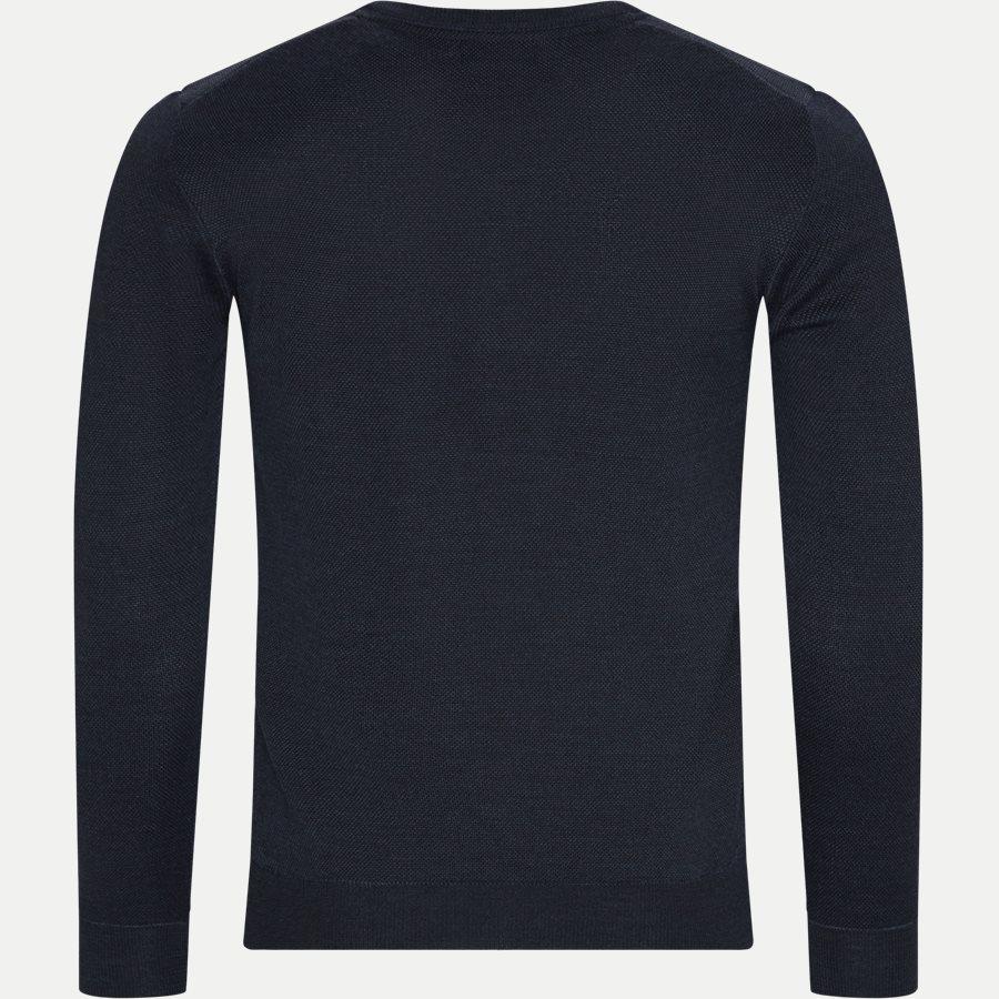 MERINO JC TWO TONE IQ - Merino JC Two Tone Sweater - Strik - Regular - NAVY - 2
