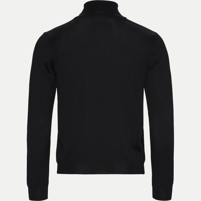 Merino Embr. Turtleneck