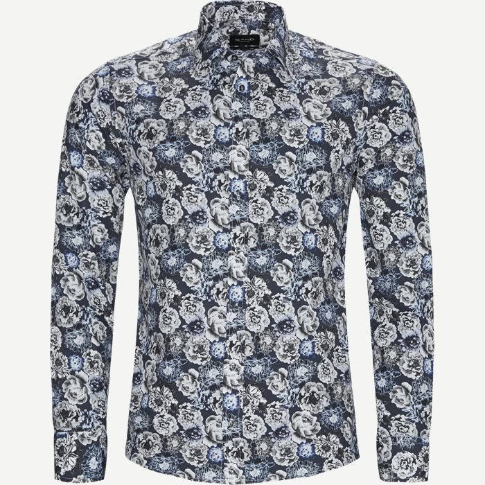 8220 Iver/State N Trim Skjorte - Skjorter - Blå