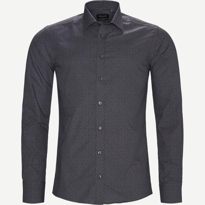 8215 Iver/State N Trim Skjorte - Skjorter - Blå