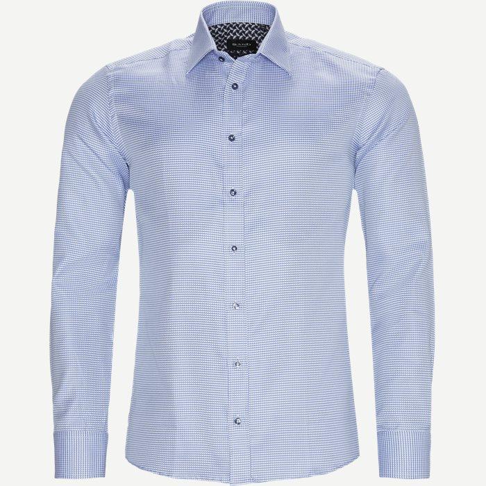8297 Iver/State N Trim Skjorte  - Skjorter - Blå