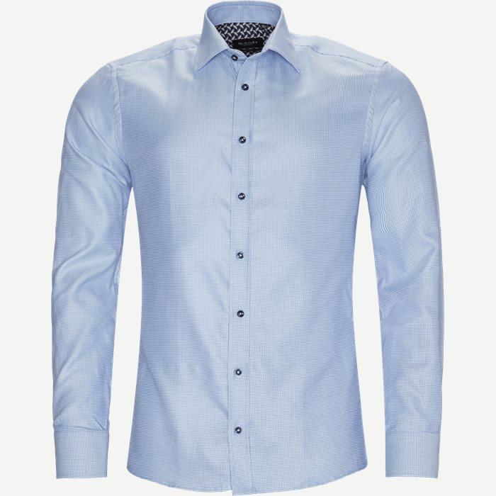 8725 Iver/State N Trim Skjorte - Skjorter - Blå