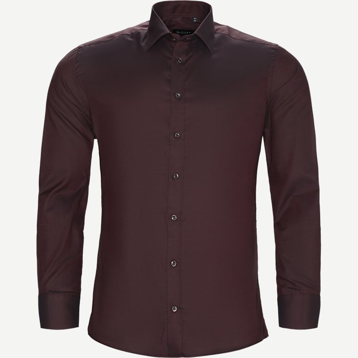 Dark Iver/Dark State N Trim Skjorte - Skjorter - Bordeaux