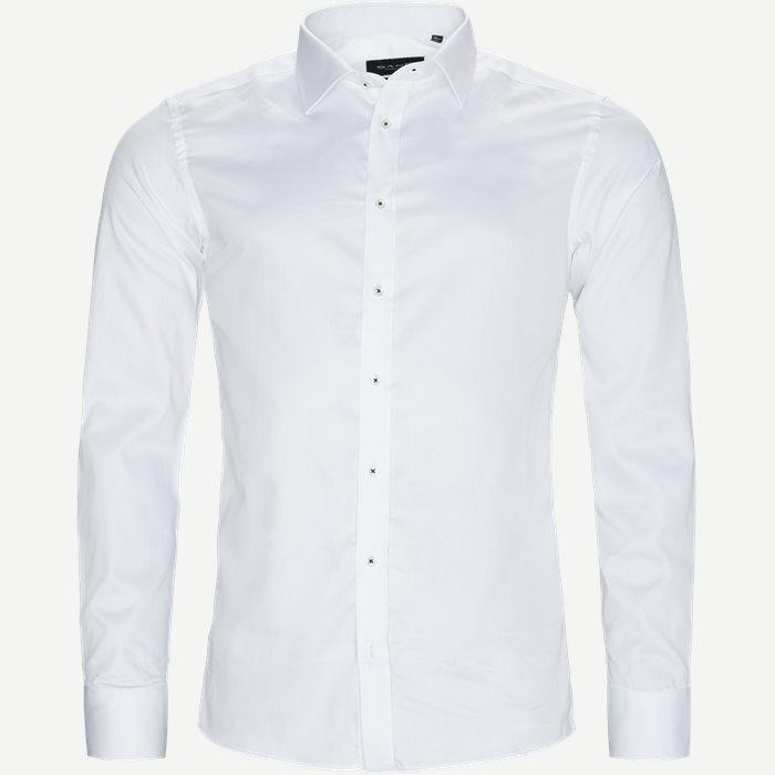 8589 Iver/State N Trim Skjorte - Skjorter - Hvid