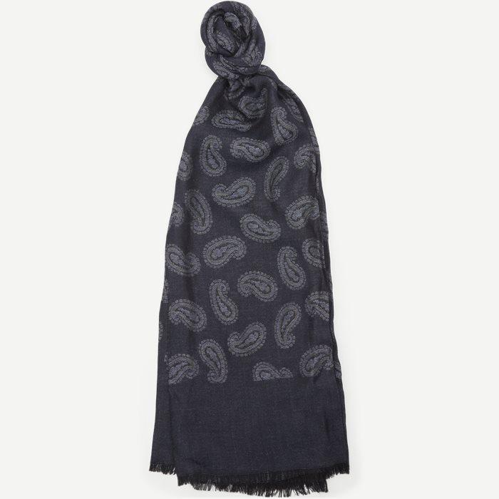 S247 Halstørklæde - Tørklæder - Blå