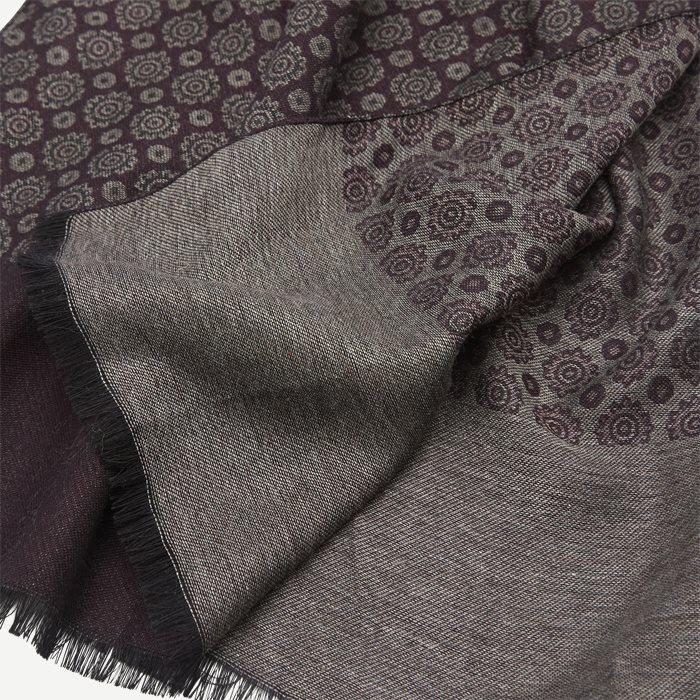 Halstørklæde - Tørklæder - Bordeaux