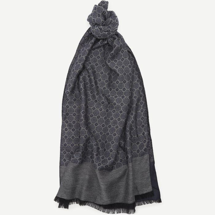 S248 Halstørklæde - Tørklæder - Blå
