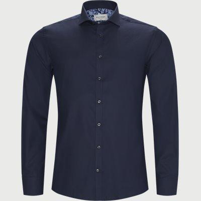 Eckhart Skjorte Slim | Eckhart Skjorte | Blå