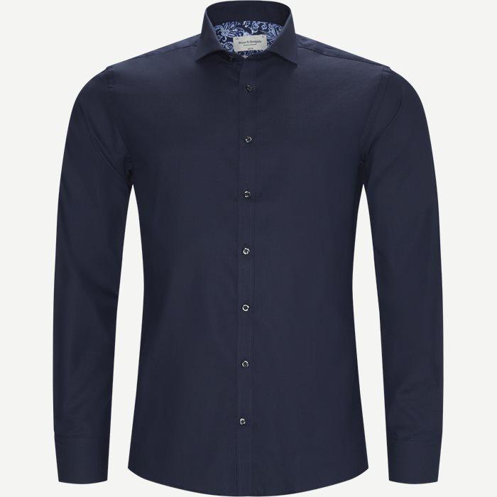 Eckhart Skjorte - Skjorter - Blå