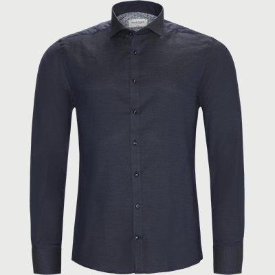 Fox Skjorte Slim | Fox Skjorte | Blå