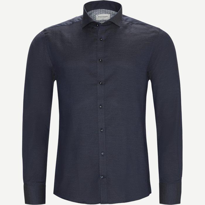 Fox Skjorte - Skjorter - Slim - Blå