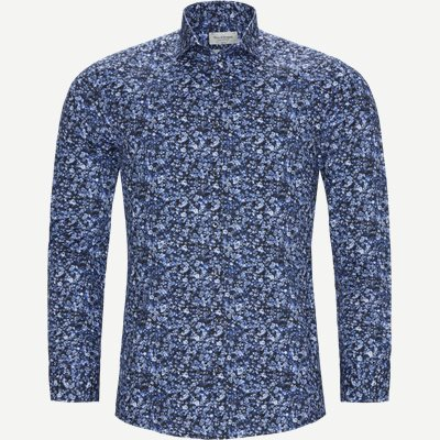 Freeman Skjorte Slim | Freeman Skjorte | Blå