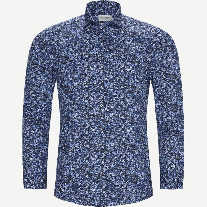 Freeman Skjorte - Skjorter - Slim - Blå