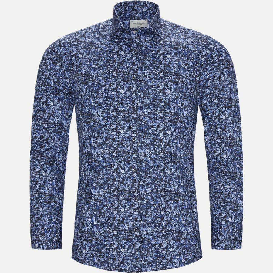 FREEMAN - Freeman Skjorte - Skjorter - Slim - BLÅ - 1