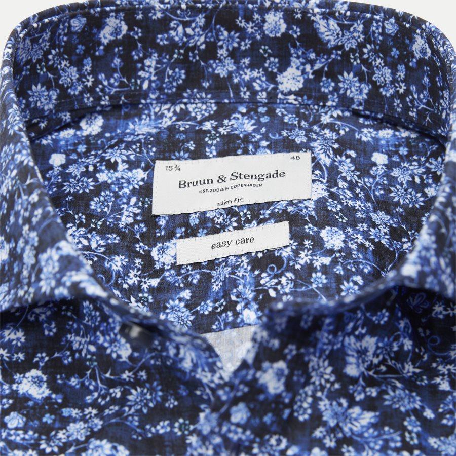 FREEMAN - Freeman Skjorte - Skjorter - Slim - BLÅ - 4