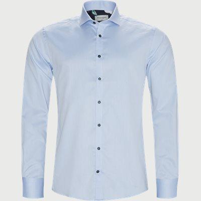 Lau Skjorte Slim | Lau Skjorte | Blå