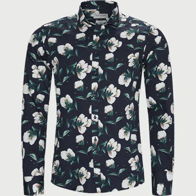 Mandzukic Skjorte Slim | Mandzukic Skjorte | Blå