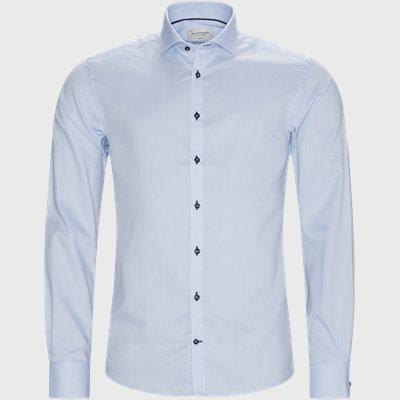 Roberts Skjorte Slim | Roberts Skjorte | Blå
