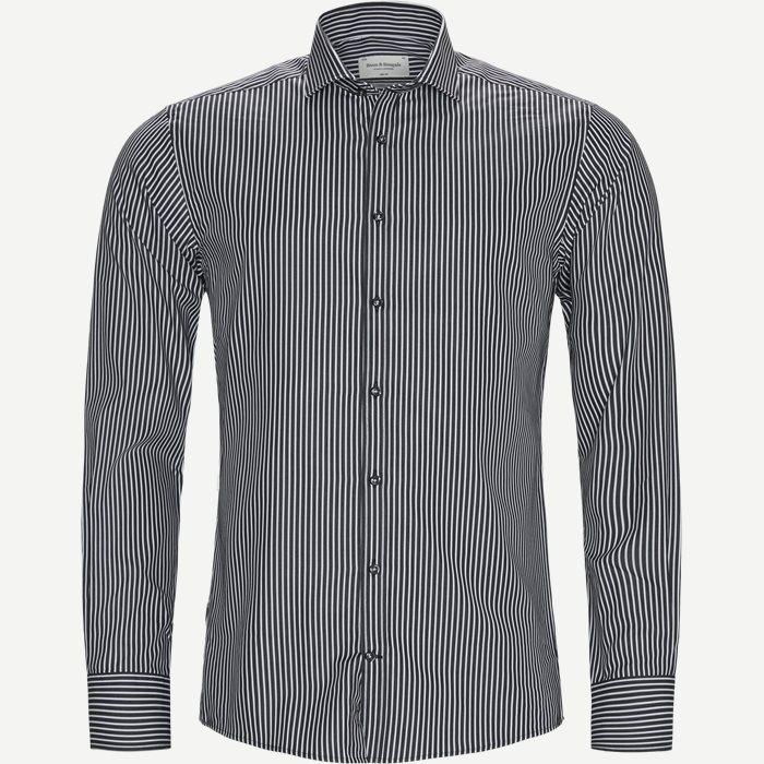 Wayne Skjorte - Skjorter - Slim - Sort